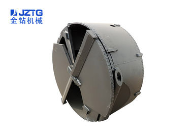 Grey Coler Clay Drilling / Drill Bucket Releases The Internal Stress